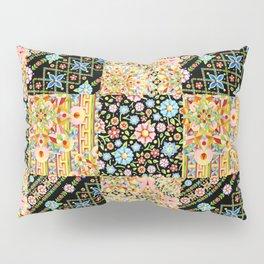 Crazy Crazy Printed Patchwork Pillow Sham