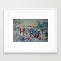 thegnarledbranch Framed Art Prints featuring Goblin Fair by TheGnarledBranch