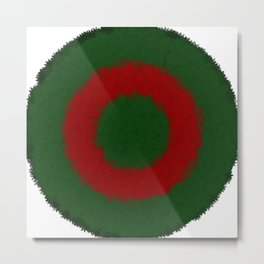 christmas colors Metal Print