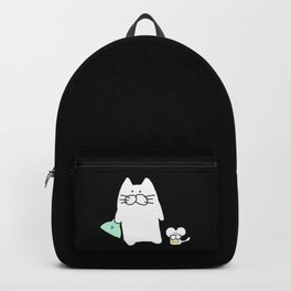 cat and mouse 223 Backpack