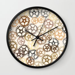 Geared Up Wall Clock
