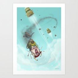 Target Down Art Print