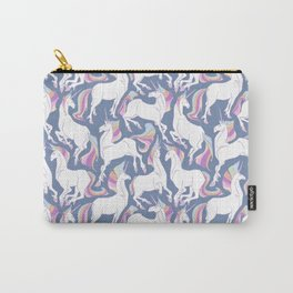 Rainbow unicorns ready for the weekend. Carry-All Pouch