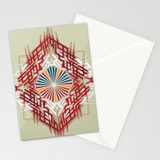 abstrkt placement Stationery Cards