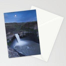 Palouse Falls Moon Stationery Cards