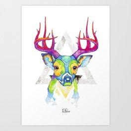 Forest Deer Art Print
