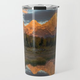Sunrise On The Snake River Travel Mug