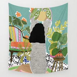 Jungle Queen Wall Tapestry