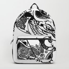Oni Samurai Mask Backpack