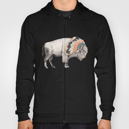 White Bison Hoody