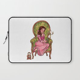 Reading fictional characters: Belle Laptop Sleeve