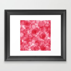 Celebrate with pink! Framed Art Print
