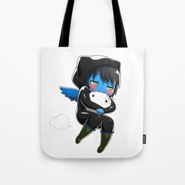 Fuzzy Chibi Luc (Expression 2) Tote Bag