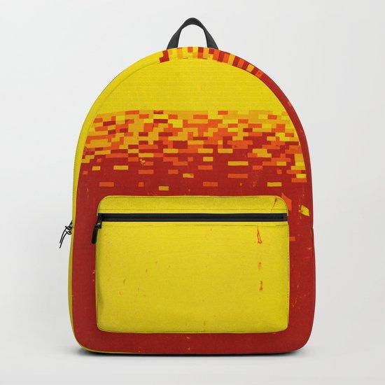 Sunset Pixels Backpack