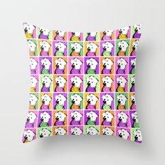 Jessie Jo Warhol Throw Pillow