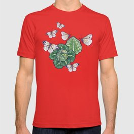 butterflies in the garden T-shirt