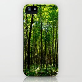 Green breeze iPhone Case