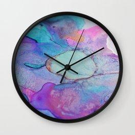 shimmery abstract Wall Clock