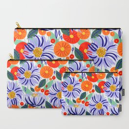 Alia #floral #illustration #botanical Carry-All Pouch