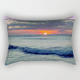 Last Wave Rectangular Pillow