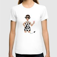 60s T-shirts featuring 60s Zodiac Gals: Taurus by Skart87