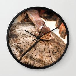 Pulley Wall Clock