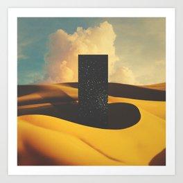 Monolith I Art Print
