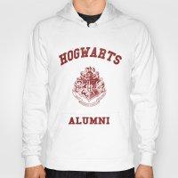 hogwarts Hoodies featuring Hogwarts Alumni by RinRin