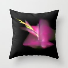 a flower is born   (A7 B0191) Throw Pillow