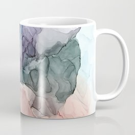 Heavenly Pastels 2: Original Abstract Ink Painting Coffee Mug