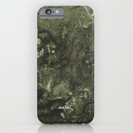 How the Ink Moves IX iPhone Case