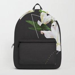 Tropical Flowers & Geometry II Backpack