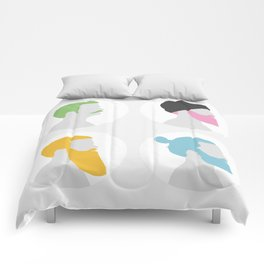 4x Mister hipster Comforters