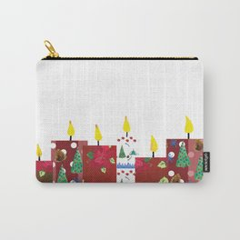 Candles for Christmas Carry-All Pouch