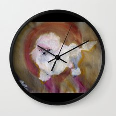Toy Poodle Wall Clock