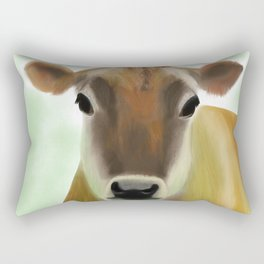 The Jersey - the prettiest cow in the world Rectangular Pillow