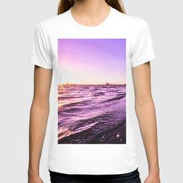 Mission Bay Riverboat Sunset in San Deigo, California T-shirt