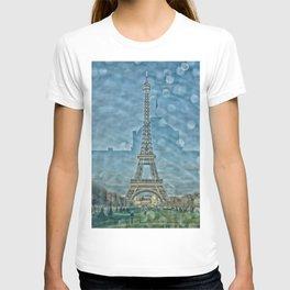 Tour Eiffel reflet T-shirt
