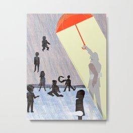 Umbrella Academics Metal Print