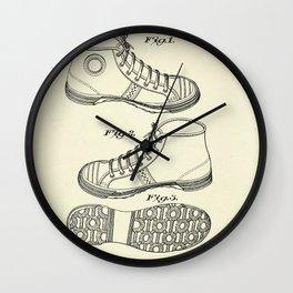 Tennis Shoe-1938 Wall Clock