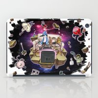 regular show iPad Cases featuring Regular Show lost in Universe by CarolaRT