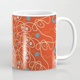 Mandala Tomato Soup Coffee Mug