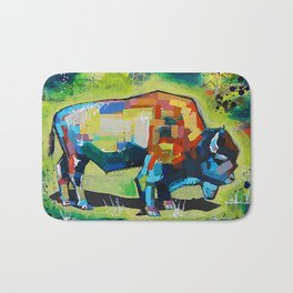 Yellowstone Bison Bath Mat