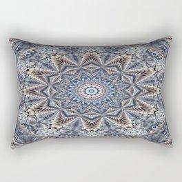 Mandala 1 - Bluegrey Breeze Rectangular Pillow