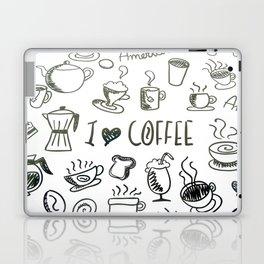 I Love Coffee Laptop & iPad Skin