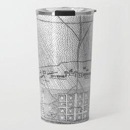 Vintage Map of The Siege of Savannah GA (1779) Travel Mug