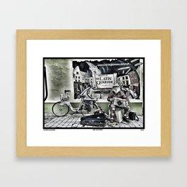 On Stop Shop Framed Art Print