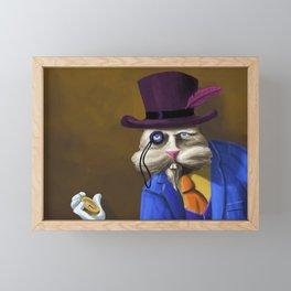 The White Rabbit - years later Framed Mini Art Print