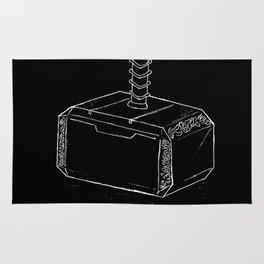 Thor's hammer: Mjolnir Rug