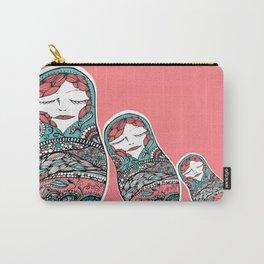 Sleeping Matrioska Carry-All Pouch